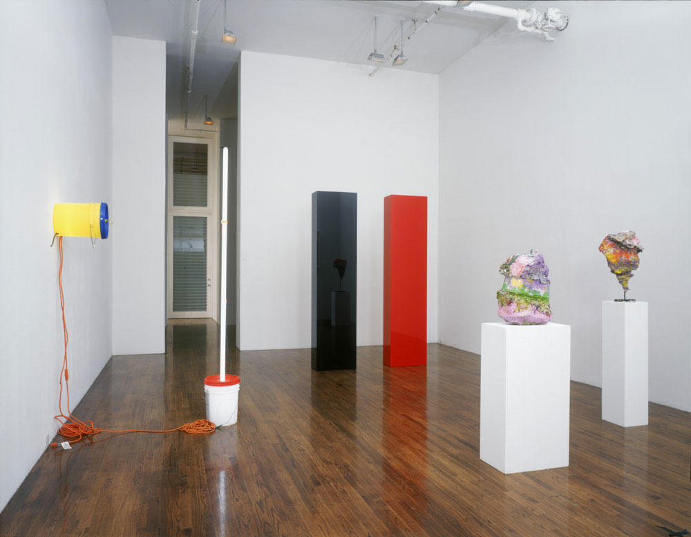 Installation view of the exhibition Five Years, 1993–1998 at David Zwirner, New York, dated 1998.