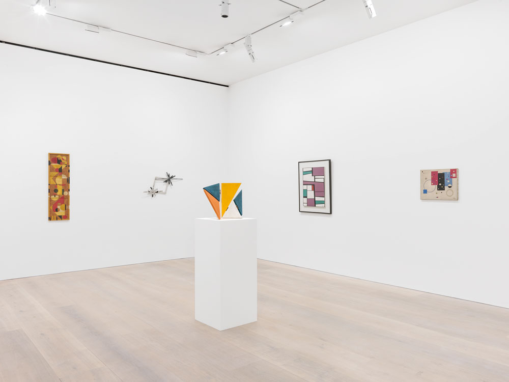 Installation view of the exhibition Concrete Cuba at 24 Grafton Street in London, dated 2015.