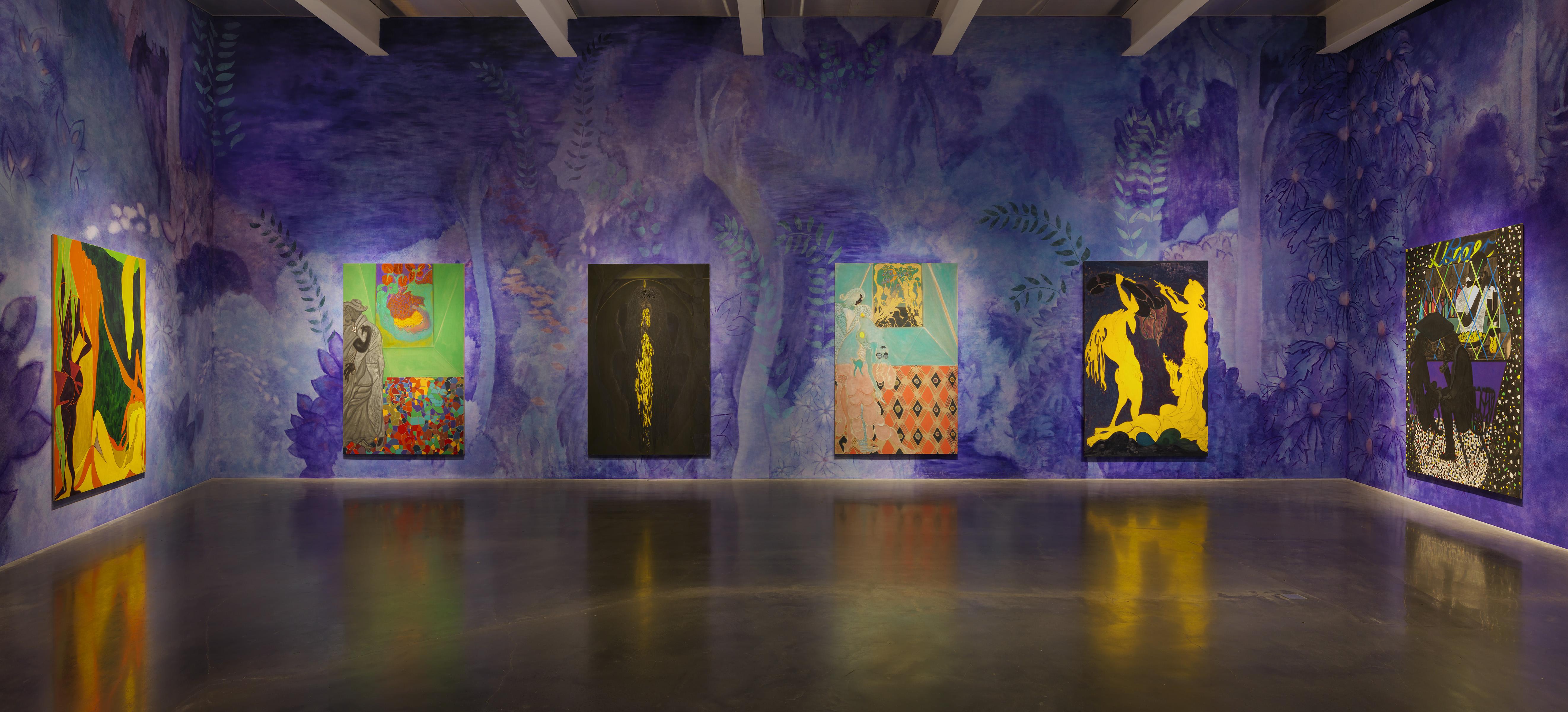 Art In Paradise D Exhibition Hall : Chris ofili david zwirner