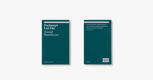 Covers of the book Duchamp's Last Day, published in 2018.