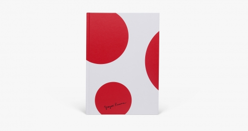 The cover of the book, Yayoi Kusama: Festival of Life.